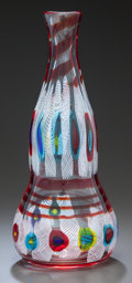 Art Glass:Other , MURRINE GLASS DOUBLE GOURD VASE, ATTRIBUTED TO ANZOLO FUGA ANDA.V.E.M.. Circa 1958, Unmarked. 17-3/4 inches high (45.1 cm)...