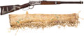 Long Guns, A Great Indian-used and Decorated Model 1892 Winchester Carbinewith Parfleche Scabbard, Serial number 372668. ...