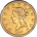 Liberty Eagles, 1838 $10 -- Obverse Scratched -- NGC Details. AU....