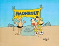 Animation Art:Production Cel, B.C. Monroe Shock Absorbers Commercial Production Cel Set-Up(Pantomime Pictures, c. 1980s).... (Total: 3 Items)
