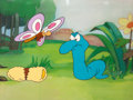 Animation Art:Production Cel, Little Boa Peep The Blue Racer Production Cel Set-Up andDrawing Group (DePatie-Freleng, 1974).... (Total: 7 Items)