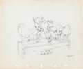 Animation Art:Production Drawing, Walt Disney Studios Joe Magro Caricature Gag Drawing Group (WaltDisney, 1937).... (Total: 9 Items)