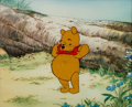 Animation Art:Production Cel, Winnie the Pooh and the Blustery Day Production Cel (WaltDisney, 1968)....