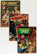 Golden Age (1938-1955):Miscellaneous, Comic Books - Assorted Golden Age Comics Group (Various Publishers, 1940-54).... (Total: 5 Items)