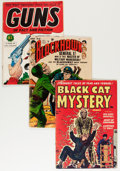 Golden Age (1938-1955):Miscellaneous, Comic Books - Assorted Controversial Golden Age Comics Group (Various Publishers, 1940s-'50s) Condition: Average GD/VG.... (Total: 9 Items)