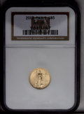 2003 G$5 Tenth-Ounce Gold Eagle MS70 NGC. NGC Census: (0/0). PCGS Population (381/0). Numismedia Wsl. Price: $200. (#996...