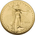 Modern Bullion Coins: , 2004 G$5 Tenth-Ounce Gold Eagle MS70 NGC. PCGS Population (225/0). Numismedia Wsl. Price: $300. (#9971)...