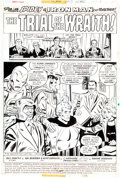 "Original Comic Art:Complete Story, Sal Buscema and Mike Esposito Marvel Team-Up #51 Spider-Man, Iron Man, and Doctor Strange Complete 17-Page Story ""..."