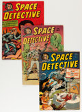 Golden Age (1938-1955):Science Fiction, Space Detective #1-3 Group (Avon, 1951-52).... (Total: 3 Items)