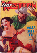 Pulps:Western, Spicy Western Stories - December '37 (Culture, 1937)....