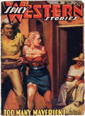 Pulps:Western, Spicy Western Stories - August '41 (Culture, 1941) Condition: VG/FN....