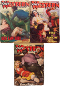 Pulps:Western, Spicy Western Stories Group (Culture, 1937-40) Condition: Average VG-.... (Total: 3 Items)