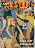 Pulps:Western, Spicy Western Stories - November '42 (Culture, 1942) Condition: FN....