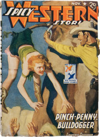 Spicy Western Stories - November '42 (Culture, 1942) Condition: FN