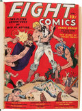 Golden Age (1938-1955):War, Fight Comics #1-12 Bound Volume (Fiction House, 1940-41)....