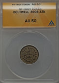 Civil War Merchants, Oliver Boutwell, Troy, New York, AU50 ANACS. Fuld-NY890B-32b..From The Parcfeld Collection....