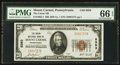 National Bank Notes:Pennsylvania, Mount Carmel, PA - $20 1929 Ty. 1 The Union NB Ch. # 8393. ...