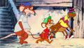 Animation Art:Production Cel, Capital Critters Production Cel Set-Up (Hanna-Barbera,1992).... (Total: 4 Items)