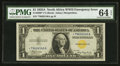 Small Size:World War II Emergency Notes, Fr. 2306* $1 1935A North Africa Silver Certificate. PMG Choice Uncirculated 64 EPQ.. ...