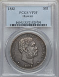 Coins of Hawaii: , 1883 $1 Hawaii Dollar VF35 PCGS. PCGS Population (47/555). NGCCensus: (18/312). Mintage: 500,000. ...