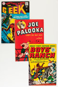 Golden Age (1938-1955):Miscellaneous, Assorted Simon & Kirby-Related Comics Group (Various Publishers, 1945-73) Condition: Average VF.... (Total: 6 Comic Books)