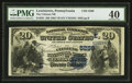 National Bank Notes:Pennsylvania, Lewistown, PA - $20 1882 Value Back Fr. 581 The Citizens NB Ch. #(E)5289. ...