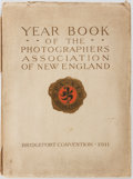 Books:Photography, [Photography]. Year Book of the Photographers' Association of New England. The Photographers' Association of New...