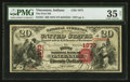 National Bank Notes:Indiana, Vincennes, IN - $20 1875 Fr. 431 The First NB Ch. # 1873. ...