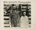 Books:Photography, [Ben Shahn, photographer]. An Album from the Thirties. Da Capo Press, 1973. Dust jacket. Some wear to the dust j...