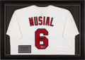 Baseball Collectibles:Uniforms, Stan Musial Signed Jersey....