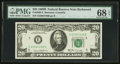 Small Size:Federal Reserve Notes, Fr. 2069-E $20 1969B Federal Reserve Note. PMG Superb Gem Uncirculated 68 EPQ.. ...