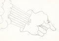 Animation Art:Production Drawing, Yellow Submarine Menacing Glove Production Drawing (UnitedArtists/King Features, 1968)....