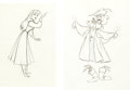 Animation Art:Production Drawing, Sleeping Beauty Briar Rose Production Drawings (Walt Disney, 1959).... (Total: 2 Items)