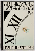 Books:Fiction, Iain Banks. SIGNED. The Wasp Factory. Houghton Mifflin Company, 1984. First edition. Signed by the author on the...
