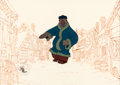 Animation Art:Production Cel, Mickey's Christmas Carol Willie the Giant Production Cel(Walt Disney, 1983)....