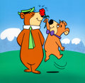 Animation Art:Production Cel, The Yogi Bear Show Publicity Cel (Hanna-Barbera, 1960's)....(Total: 2 Items)