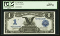 Large Size:Silver Certificates, Fr. 228 $1 1899 Silver Certificate PCGS Gem New 66PPQ.. ...