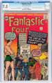 Fantastic Four #9 (Marvel, 1962) CGC VF- 7.5 Off-white to white pages