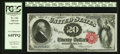 Large Size:Legal Tender Notes, Fr. 144 $20 1880 Legal Tender PCGS Very Choice New 64PPQ.. ...