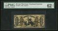 Fractional Currency:Third Issue, Fr. 1355 50¢ Third Issue Justice PMG Uncirculated 62 Net.. ...
