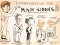 "Animation Art:Production Drawing, Sam McKim ""McKim Kiddies"" Illustration (1935).... (Total: 7 Items)"