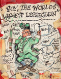 Animation Art:Limited Edition Cel, Mockup of Proposed Roy Williams Book Roy, The World's LargestLeprechaun by Jack Kinney....