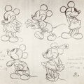 animation art:Model Sheet, Walt Disney Studios Theatrical Shorts Model Sheets Collection (Walt Disney, 1930s).... (Total: 17 Items)
