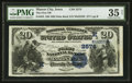 National Bank Notes:Iowa, Mason City, IA - $20 1882 Date Back Fr. 555 The First NB Ch. # (M)2574. ...