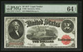 Large Size:Legal Tender Notes, Fr. 60 $2 1917 Legal Tender PMG Choice Uncirculated 64 EPQ.. ...