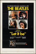 "Movie Posters:Rock and Roll, Let It Be (United Artists, 1970). One Sheet (27"" X 41""). Rock and Roll.. ..."