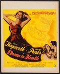 """Movie Posters:Musical, Down to Earth (Columbia, 1947). Trimmed Window Card (14"""" X 17.25""""). Musical.. ..."""