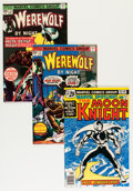 Modern Age (1980-Present):Superhero, Moon Knight Related Titles Group (Marvel, 1970s-80s) Condition:Average VF.... (Total: 11 Comic Books)