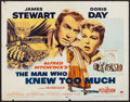 """Movie Posters:Hitchcock, The Man Who Knew Too Much (Paramount, 1956). Half Sheet (22"""" X 28""""). Hitchcock.. ..."""