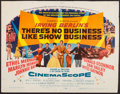 "Movie Posters:Musical, There's No Business Like Show Business (20th Century Fox, 1954).Half Sheet (22"" X 28""). Musical.. ..."